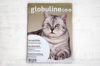 Globuline Zeitschrift Redesign